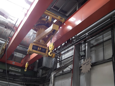 360 degree rotating hoist