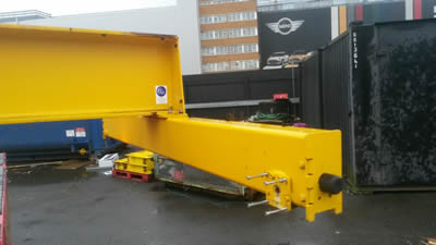 SWF crane end carriages